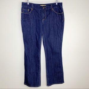 Seven 7 Luxe Jeans 20 Thalia Dark Wash Stretch